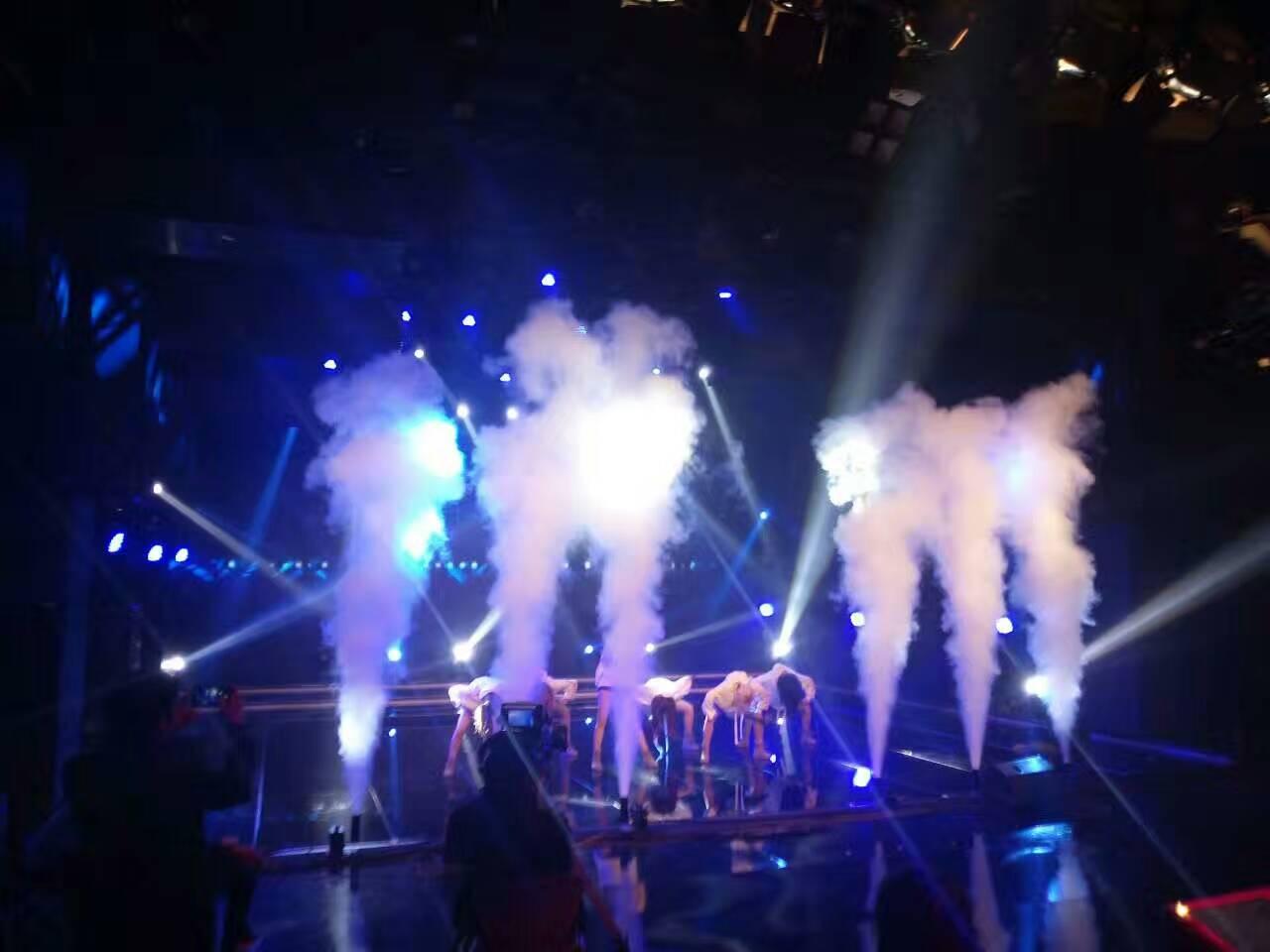 舞台干冰用于舞台演出